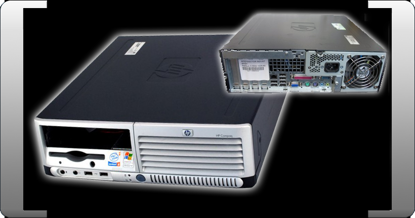 HP-DC-7100-SFF-DESKTOP-COMPUTER-3-00-GHZ-P4-CPU-DVD-ROM-AUDIO-LAN-LOW-FORMAT-TOP