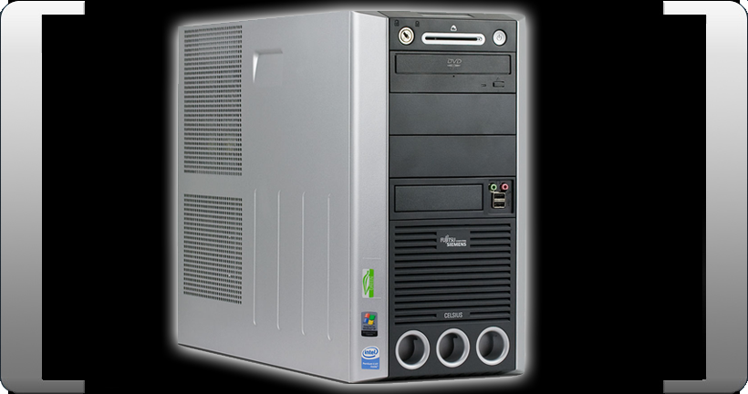 FSC-FUJITSU-SIEMENS-CELSIUS-W340-INTEL-i945G-3-2-GHZ-P4-4GB-160GB-WINDOWS-XPPROF