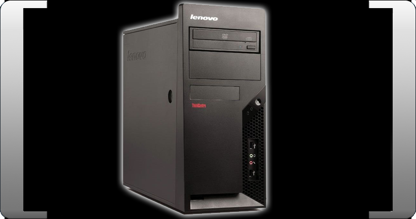 IBM-LENOVO-M57-6069-CTO-INTEL-CORE-2-DUO-E6550-2-33GHZ-1GB-RAM-160GB-THINKCENTRE