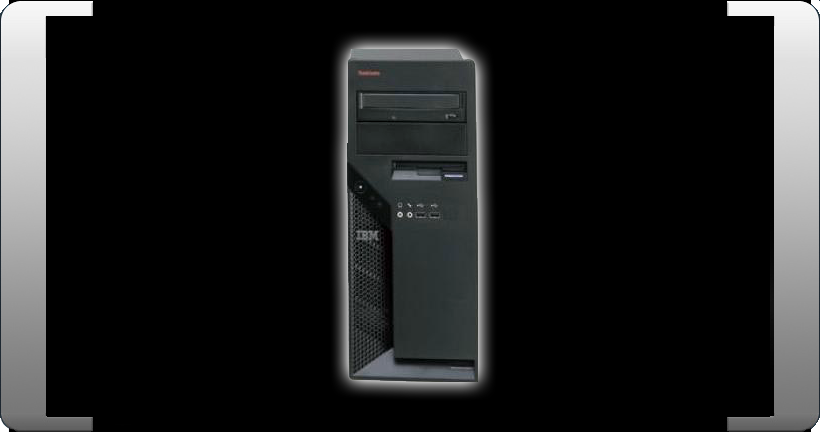 IBM-LENOVO-M55-8806-CTO-INTEL-DUALCORE-E6300-2x1-87GHZ-2GB-RAM-160GB-THINKCENTRE